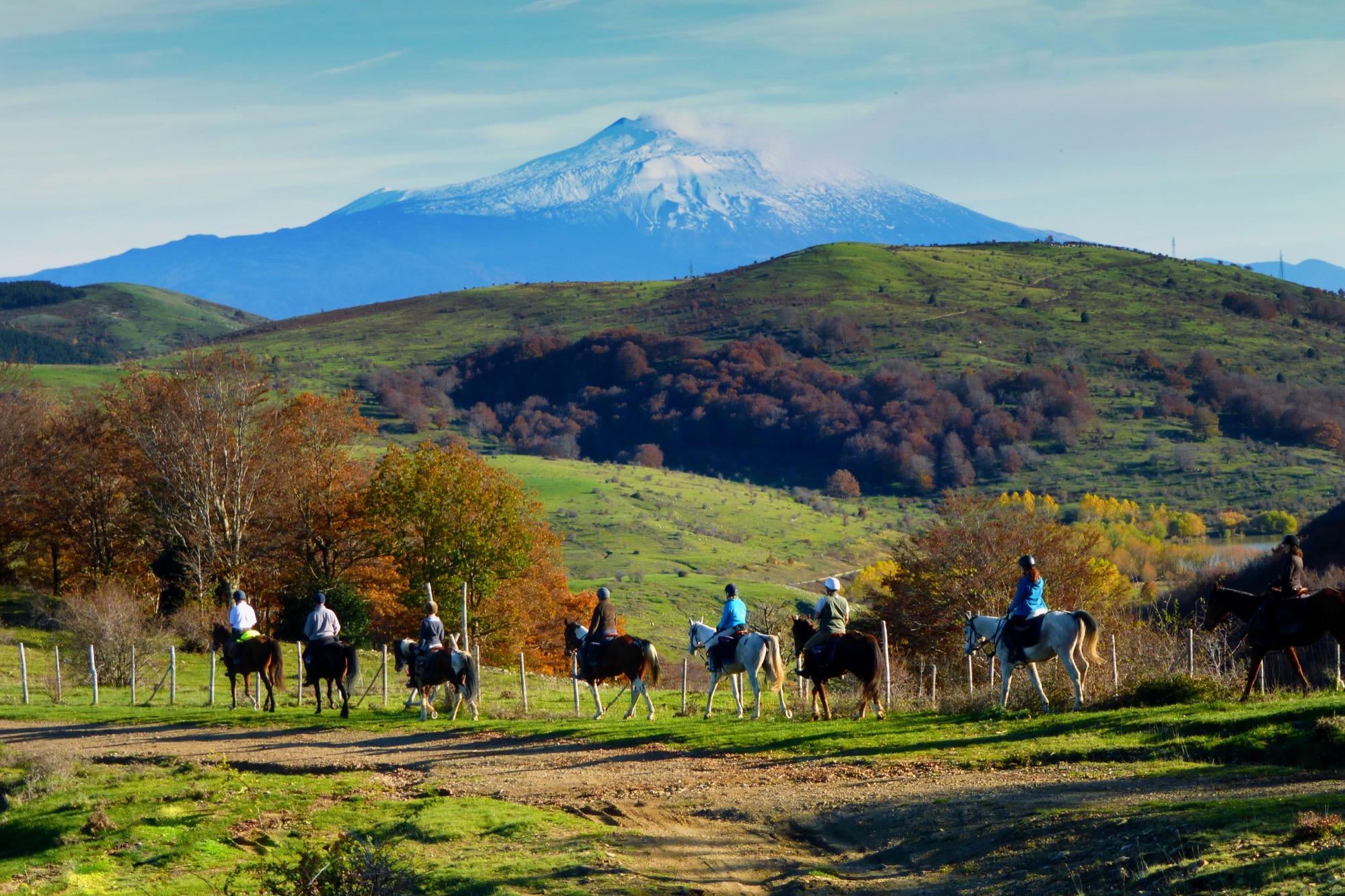 Sicily on Horseback